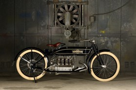 HENDERSON Model D 1915 in line four cylinder