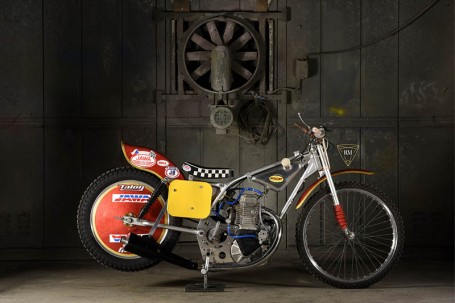 SOHC Four-valve Long Track Racing Motorcycle